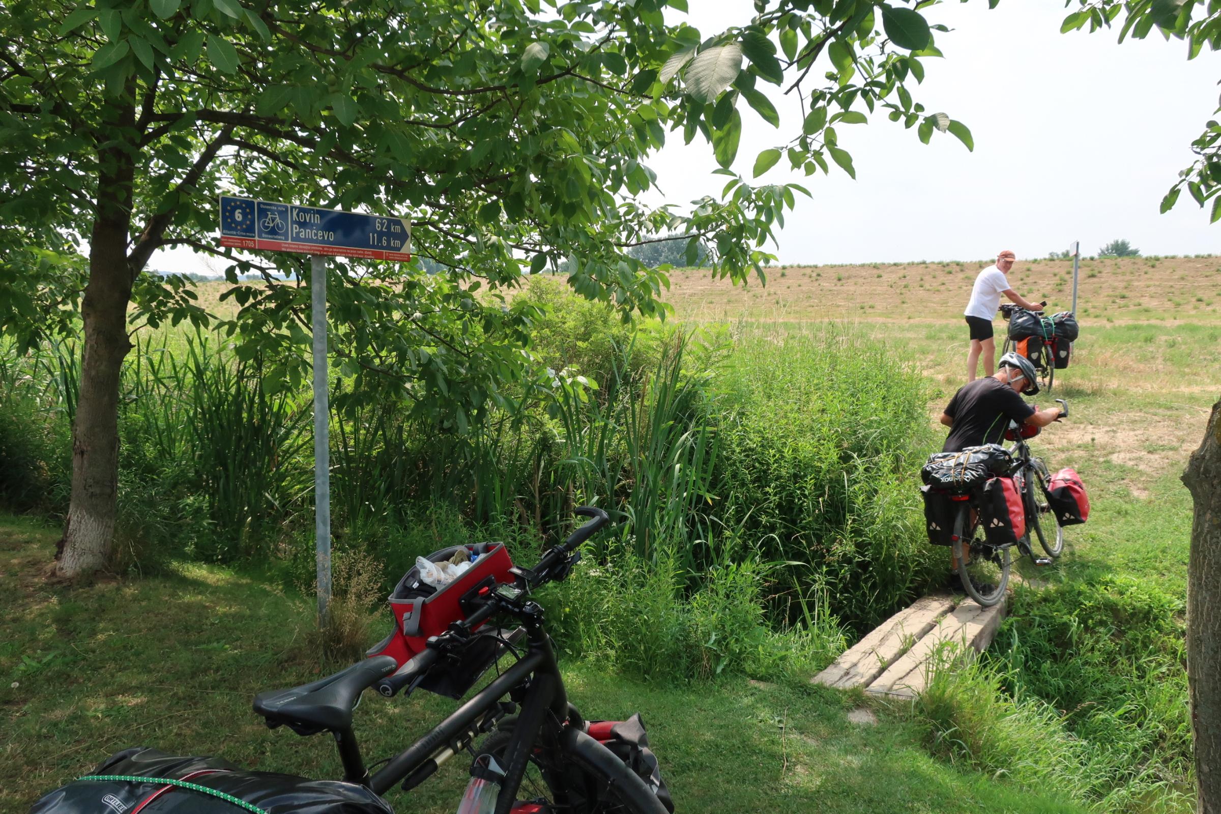Juni 2018 – Mit dem Fahrrad durch Europa